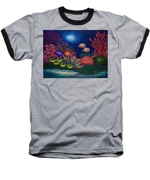 Undersea Creatures Vi Baseball T-Shirt