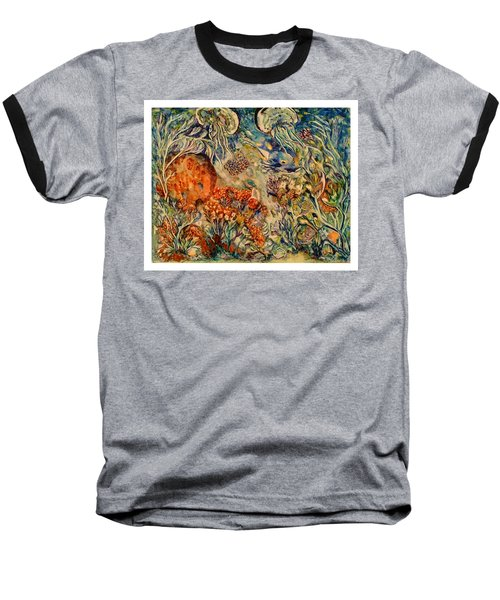 Undersea Friends Baseball T-Shirt