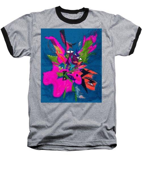 Underwater Feline Baseball T-Shirt