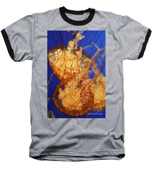 Underwater Friends - Jelly Fish By Diana Sainz Baseball T-Shirt