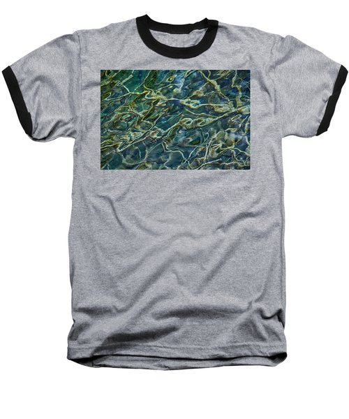 Underwater Roots Baseball T-Shirt