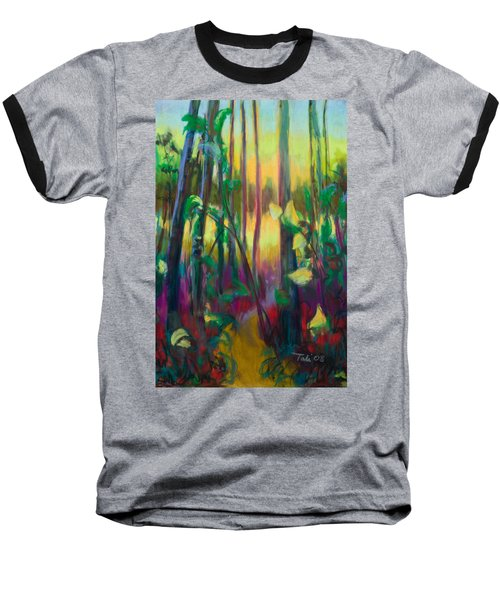 Unexpected Path - Through The Woods Baseball T-Shirt