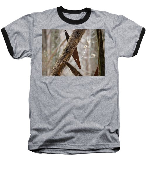 Baseball T-Shirt featuring the photograph Unhinged by Nick Kirby