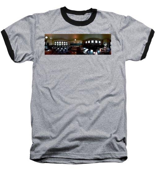Union  Illinois One Room School House Baseball T-Shirt