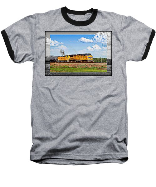 Union Pacific Railroad 2 Baseball T-Shirt