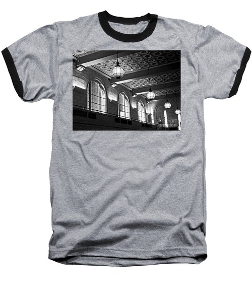Union Station Balcony - New Haven Baseball T-Shirt