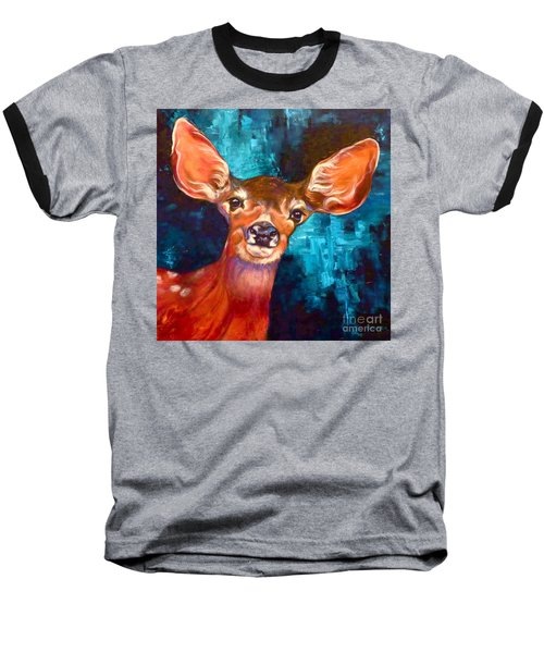 Uniquely Fawn Baseball T-Shirt