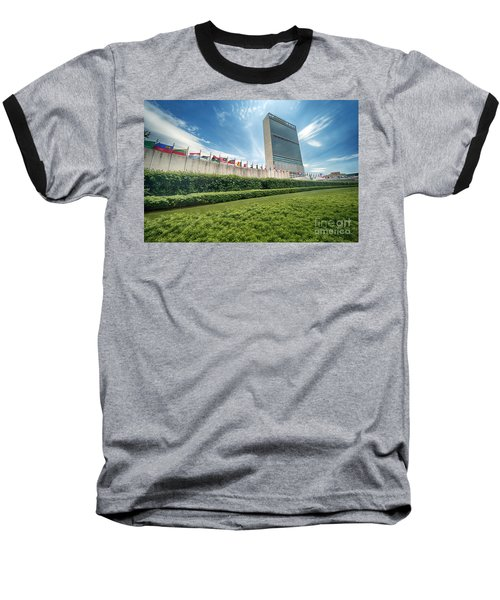 United Nations Baseball T-Shirt