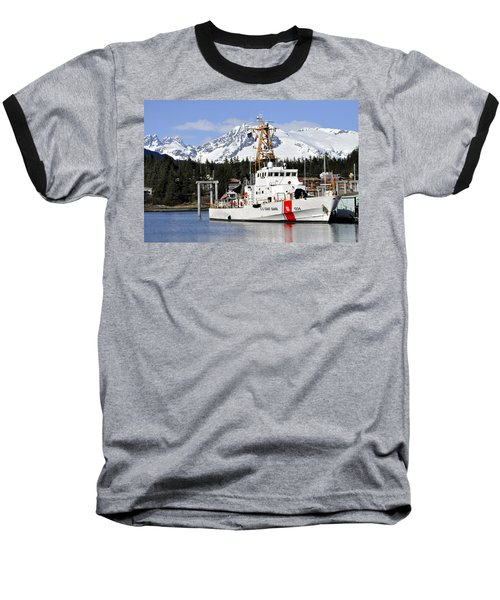 United States Coast Guard Cutter Liberty Baseball T-Shirt