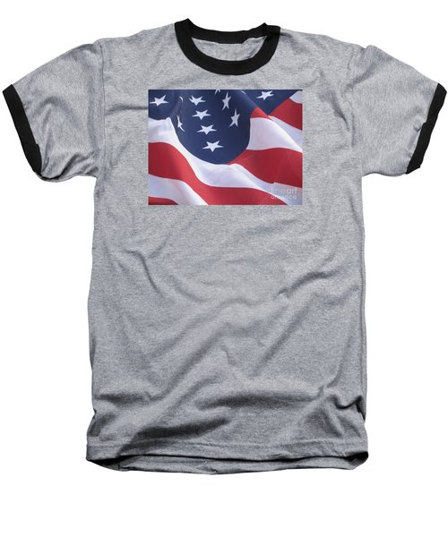United States Flag  Baseball T-Shirt