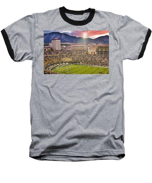 University Of Colorado Boulder Go Buffs Baseball T-Shirt