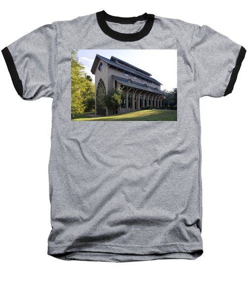 Baseball T-Shirt featuring the photograph University Of Florida Chapel On Lake Alice by Lynn Palmer