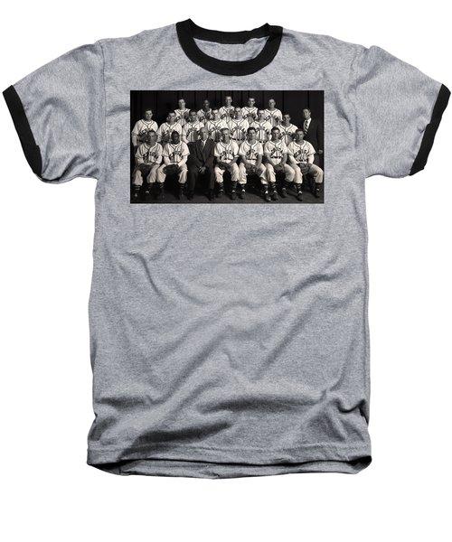 University Of Michigan - 1953 College Baseball National Champion Baseball T-Shirt