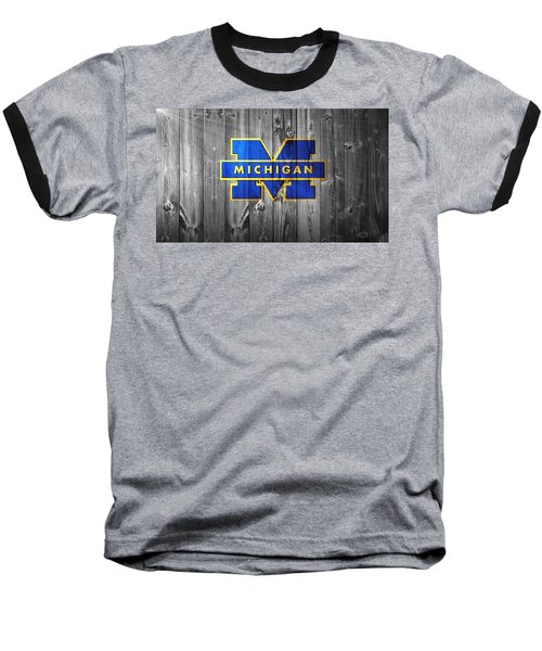 University Of Michigan Baseball T-Shirt by Dan Sproul