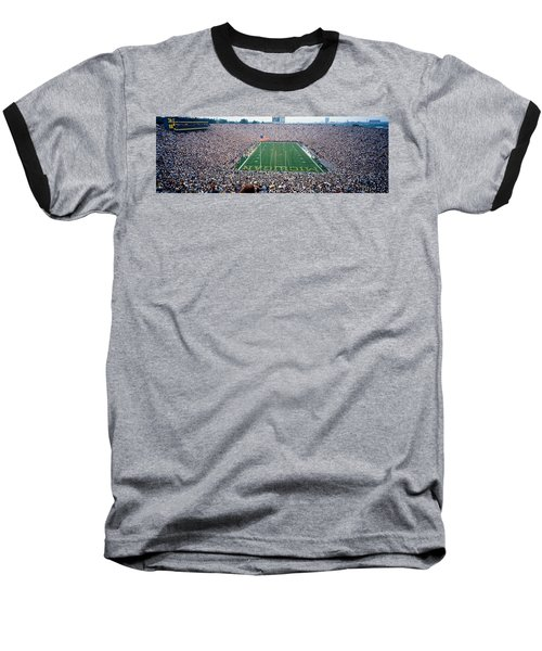 University Of Michigan Football Game Baseball T-Shirt