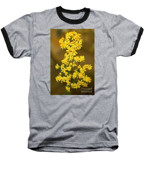 Unknown Flower Baseball T-Shirt