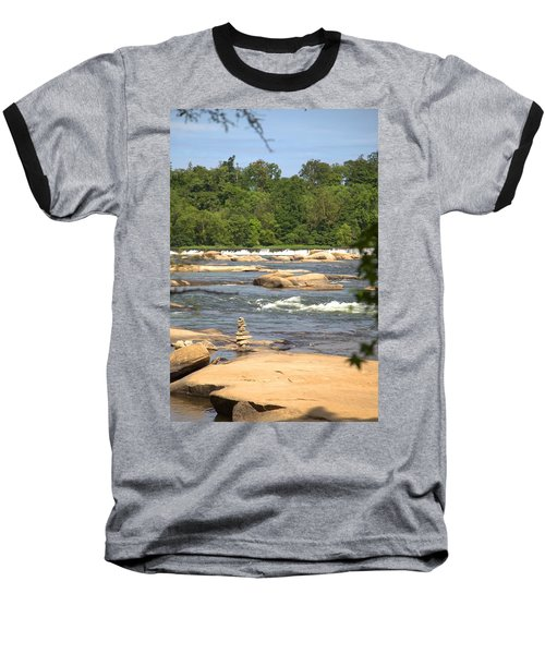 Unnatural Rock Formation Baseball T-Shirt