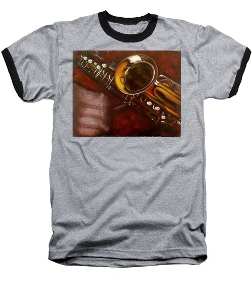 Unprotected Sax Baseball T-Shirt