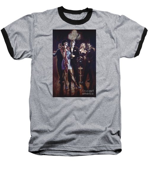 Unsere Leute Baseball T-Shirt