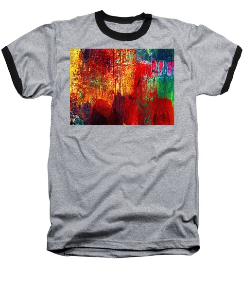 Untamed Colors  Baseball T-Shirt