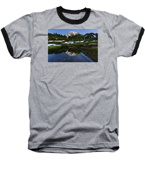 Untarnished View Baseball T-Shirt by Ryan Manuel