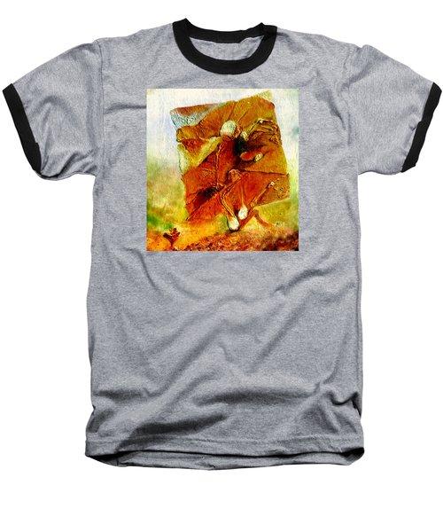 Untitled Baseball T-Shirt by Henryk Gorecki