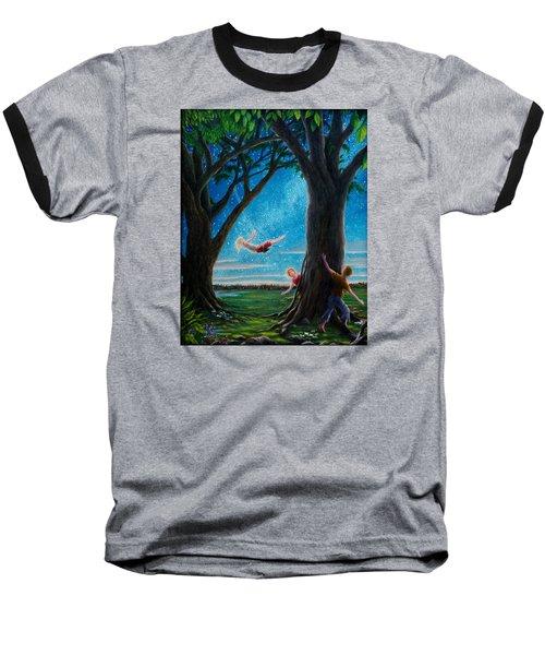 Innocence  Baseball T-Shirt by Matt Konar
