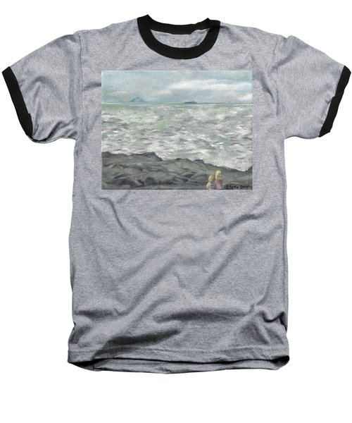 Untitled Seascape Baseball T-Shirt