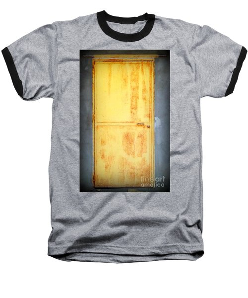 Baseball T-Shirt featuring the photograph Unused Door by Clare Bevan
