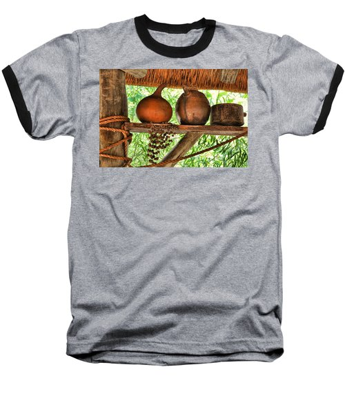 Up On A Shelf Baseball T-Shirt by Jan Amiss Photography