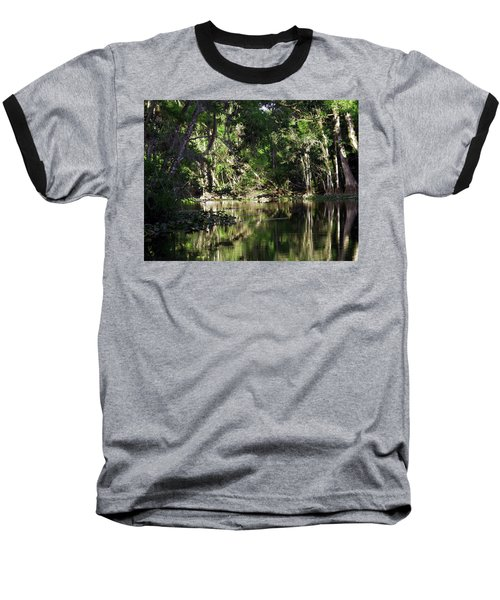 Up The Lazy River  Baseball T-Shirt