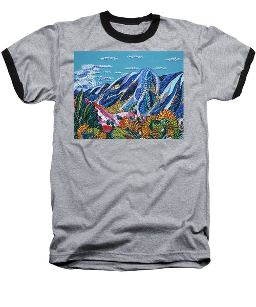 Up To The Mountains Baseball T-Shirt
