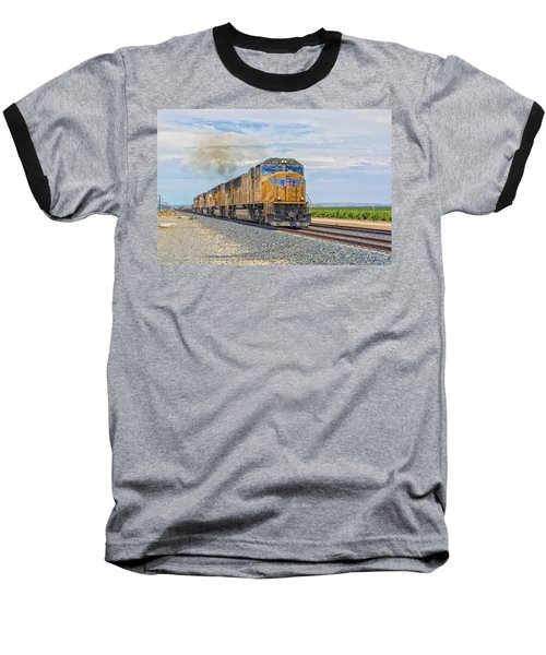 Baseball T-Shirt featuring the photograph Up4421 by Jim Thompson