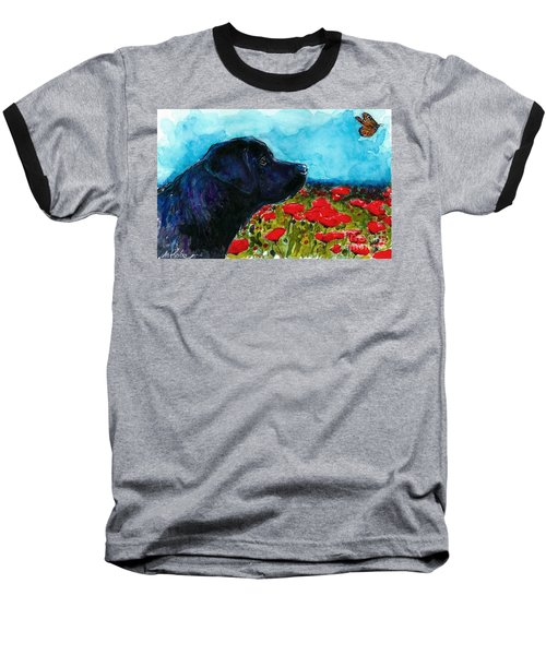 Updraft Baseball T-Shirt by Molly Poole