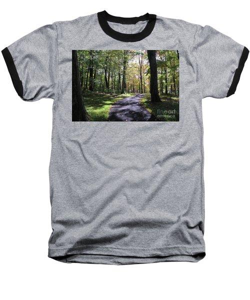 Upj Campus Path Baseball T-Shirt