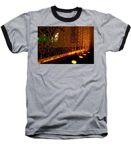 Uplight The Chains Baseball T-Shirt by Melinda Ledsome