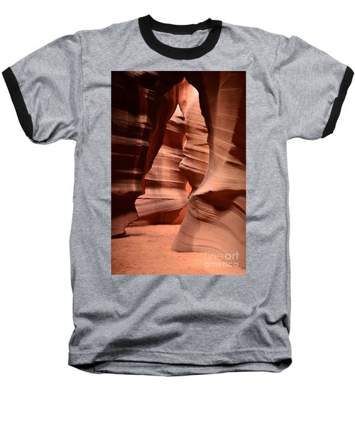 Upper Antelope Canyon In Arizona Baseball T-Shirt by DejaVu Designs