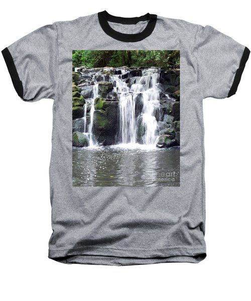 Baseball T-Shirt featuring the photograph Upper Beaver Falls by Chalet Roome-Rigdon
