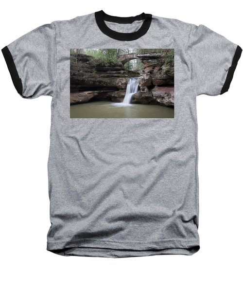 Baseball T-Shirt featuring the photograph Upper Falls At Old Mans Cave II by Dale Kincaid