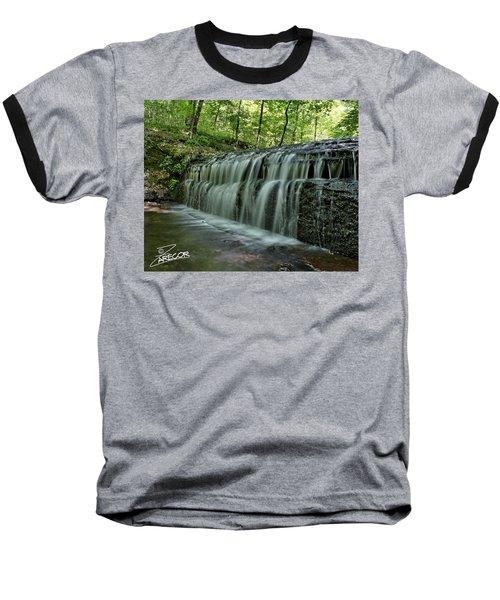 Upper Falls At Stillhouse Hollow Baseball T-Shirt