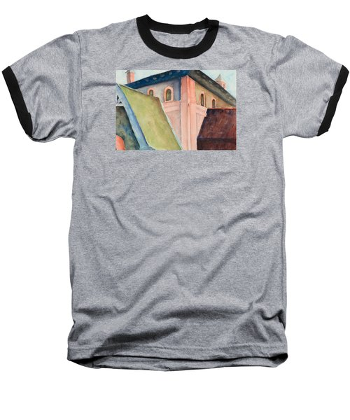 Upper Level Baseball T-Shirt by Lee Beuther