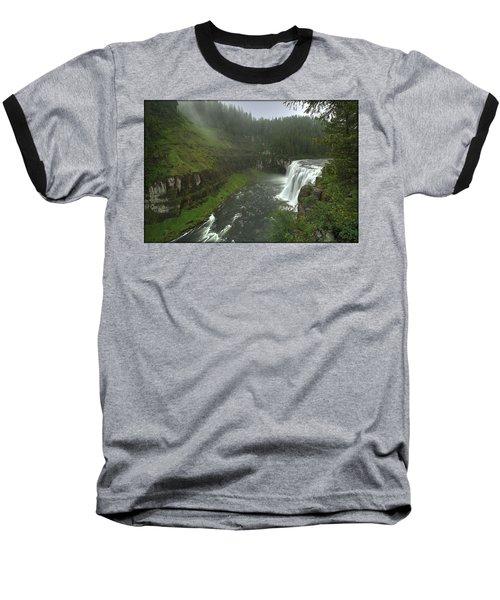 Upper Messa Falls Baseball T-Shirt