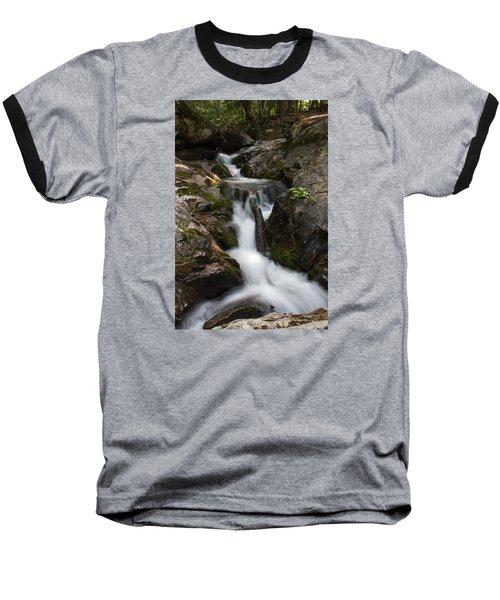 Upper Pup Creek Falls Baseball T-Shirt