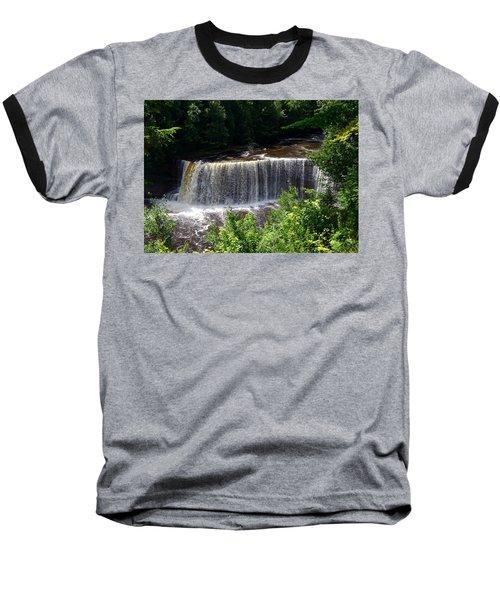 Upper Tahquamenon Falls Baseball T-Shirt