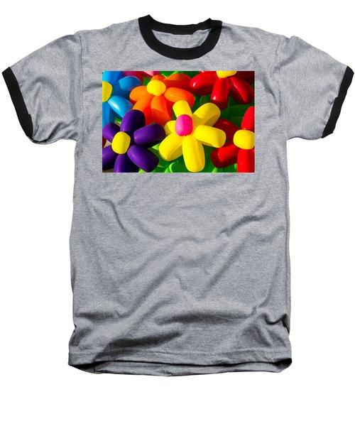 Urban Flowers - Featured 3 Baseball T-Shirt