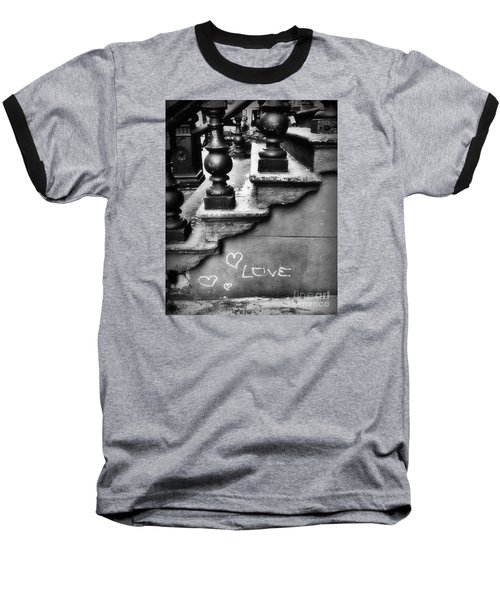 Urban Love Baseball T-Shirt by Miriam Danar