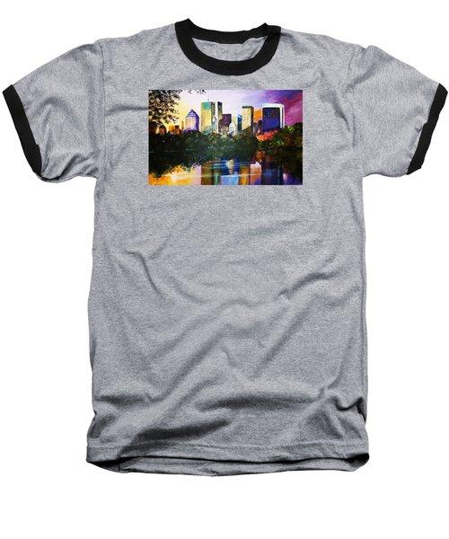 Urban Reflections Baseball T-Shirt by Al Brown
