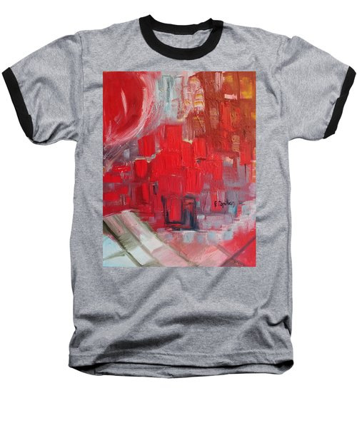 Urban View Baseball T-Shirt by Evelina Popilian