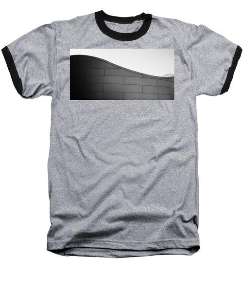 Urban Wave - Abstract Baseball T-Shirt by Steven Milner