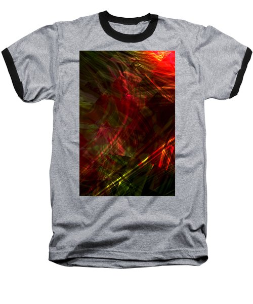 Urgent Orbital Baseball T-Shirt by Richard Thomas